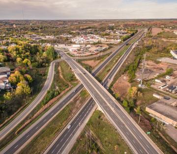 Peterborough at Highway 115